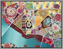 Map Making with Fabrics online class w/ zoom intro