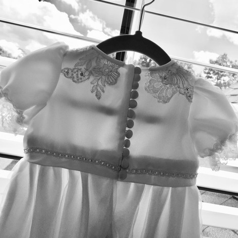 Wedding to christening gown ~ 2019