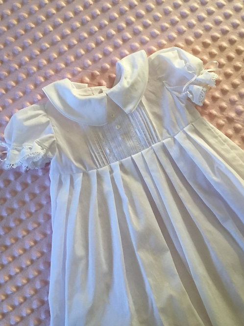 Simply Sweet Christening/Baptismal/Dedication Gown