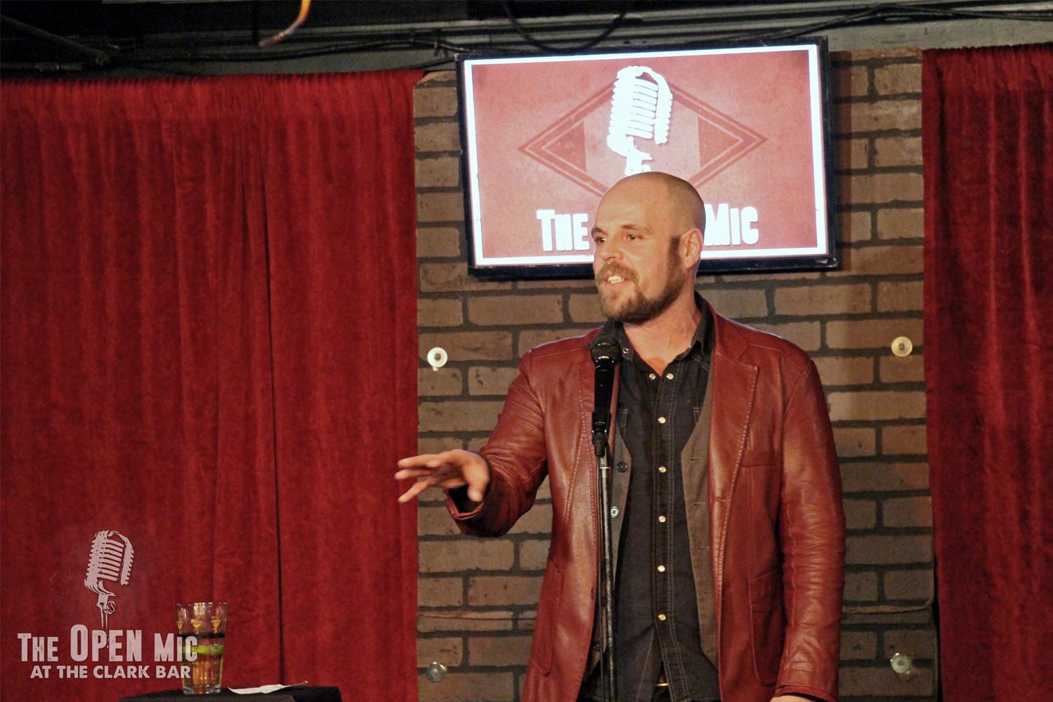C-U Comedy's Jesse Tuttle