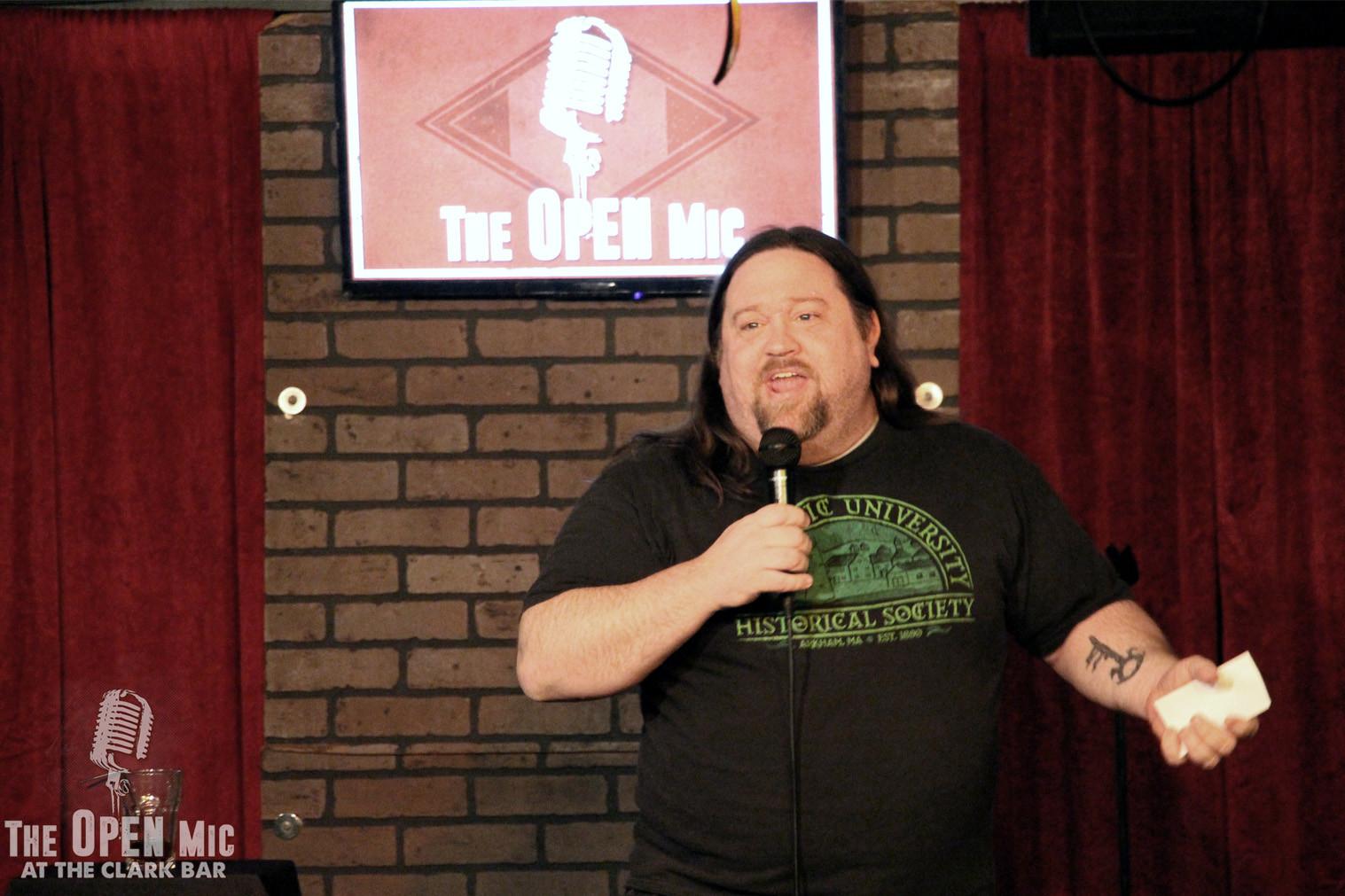 C-U Comedy's Mikel Matthews