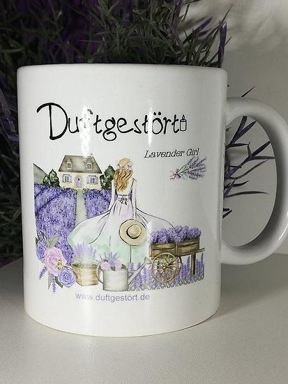 Tasse Lavender Girl