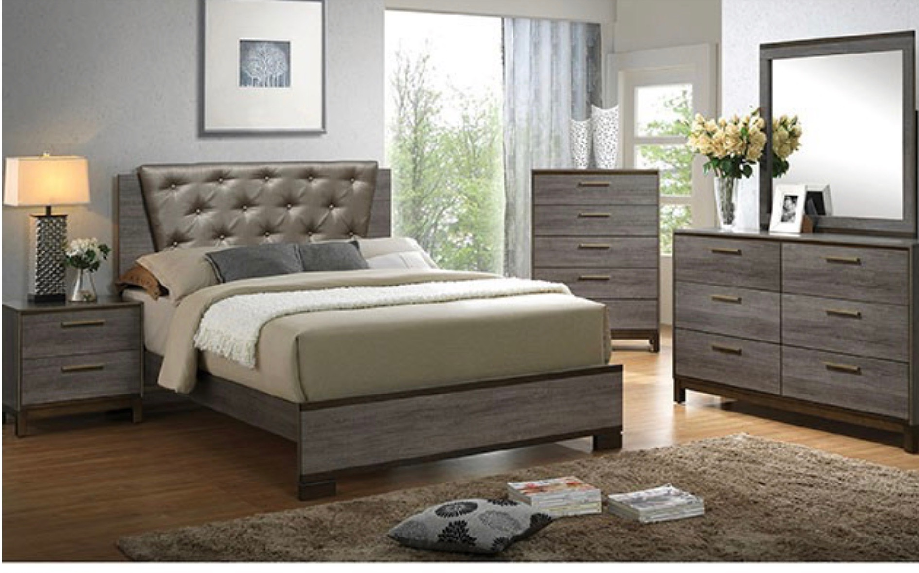 BEDROOM SET 5PC $999