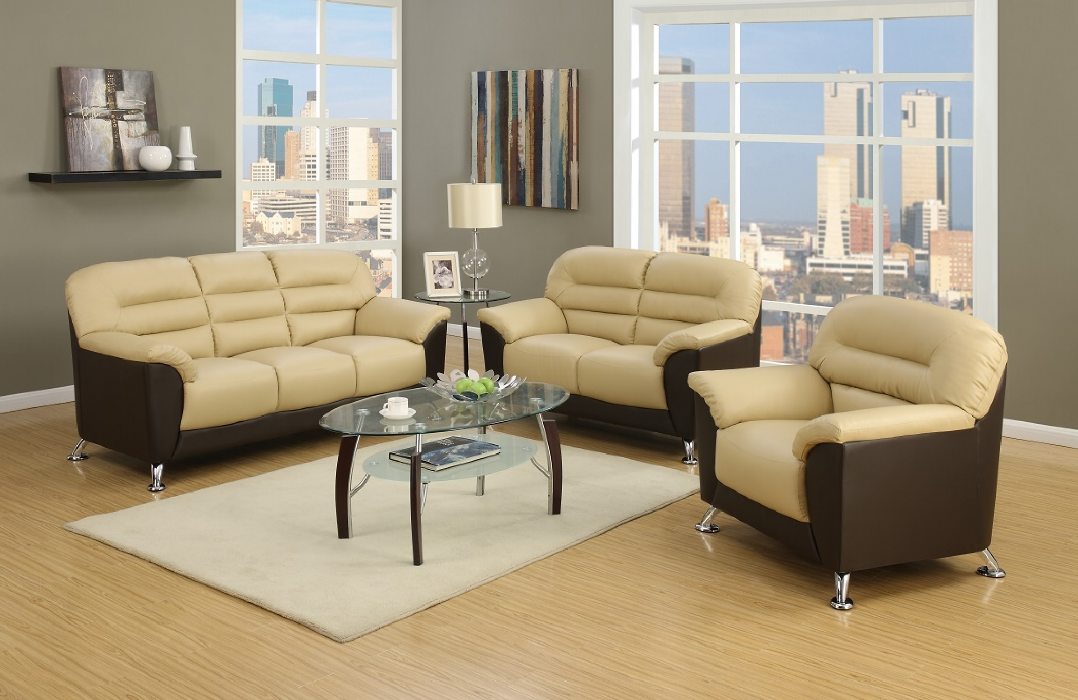 SPECIAL LEATHER SOFA SETS all colors