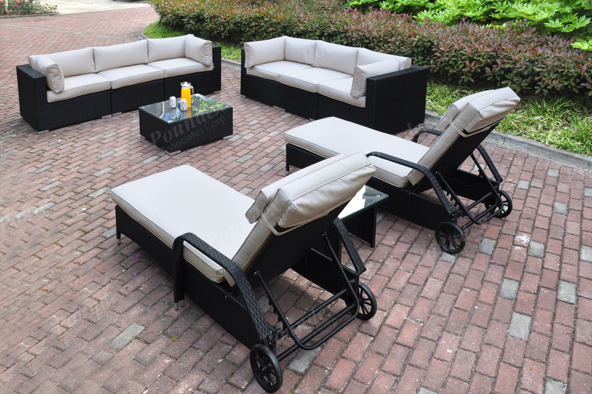 10-Pcs Outdoor Set