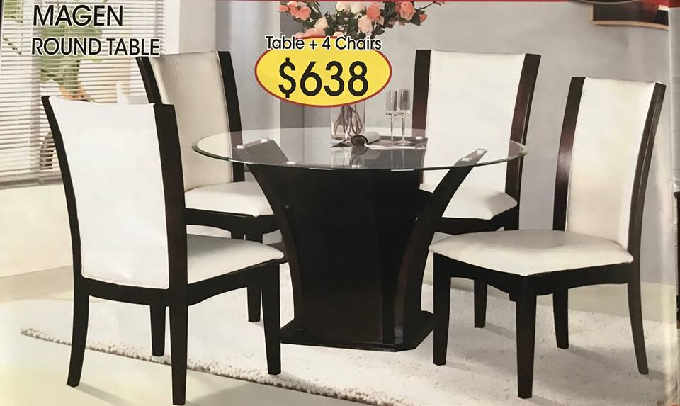 DINING SET 5PC $638