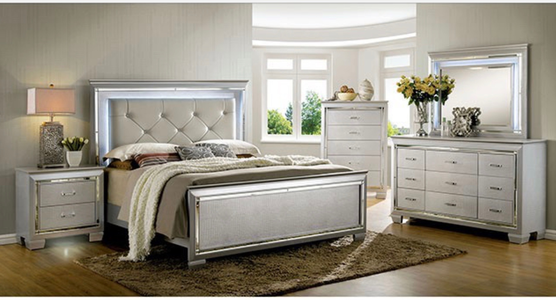 BEDROOM SET 5PC $1999.