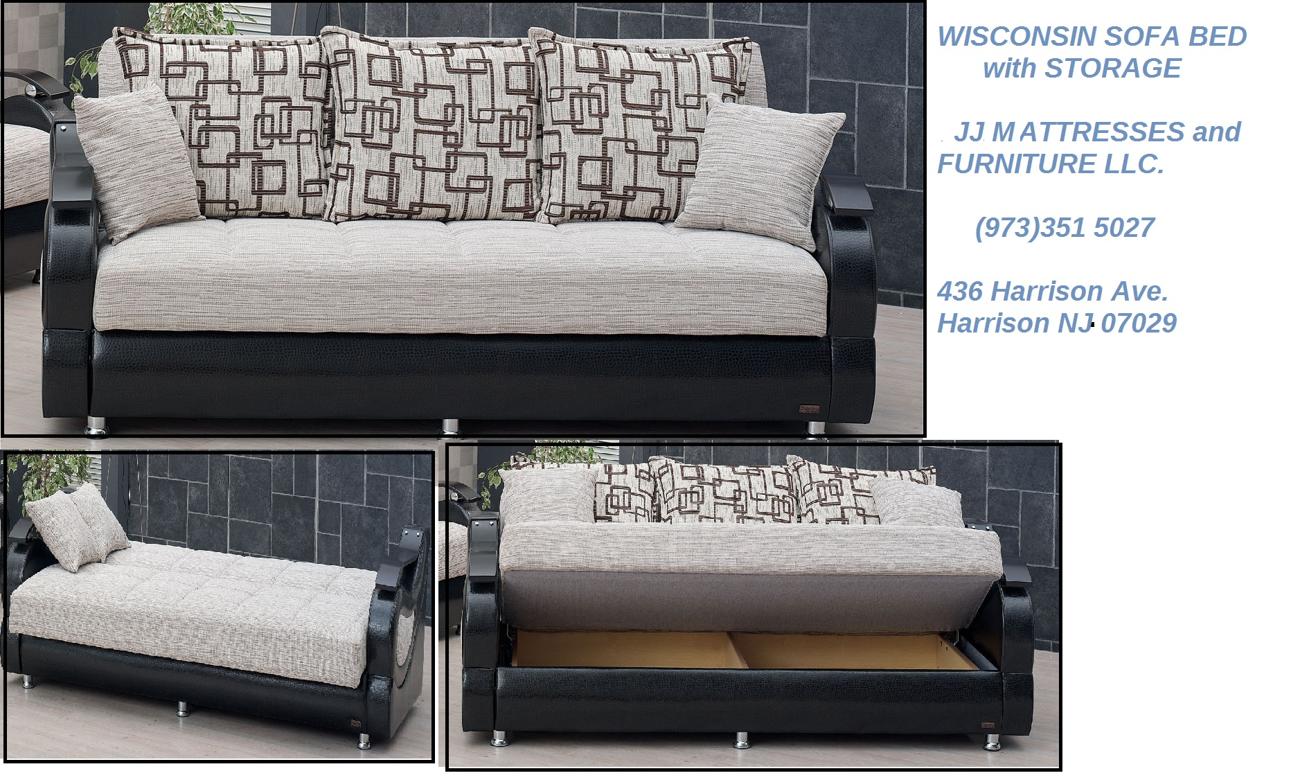 WISCONSIN SOFA BED