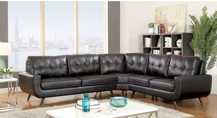 LEATHER SECTIONAL $1200