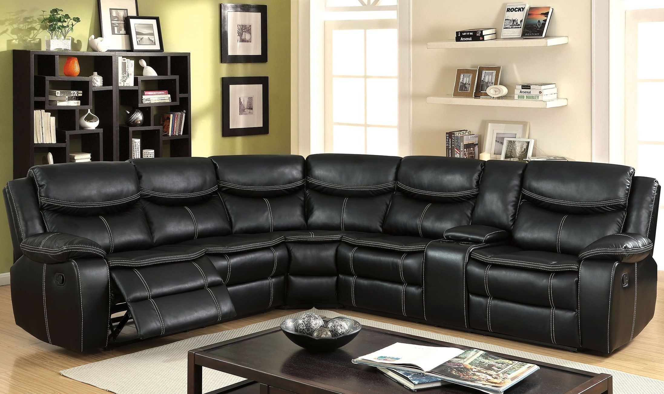 GATRIA II SECTIONAL RECLINER $1550