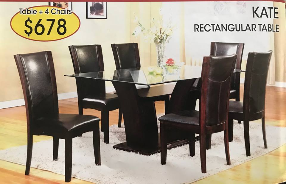 DINING SET 5PC $678