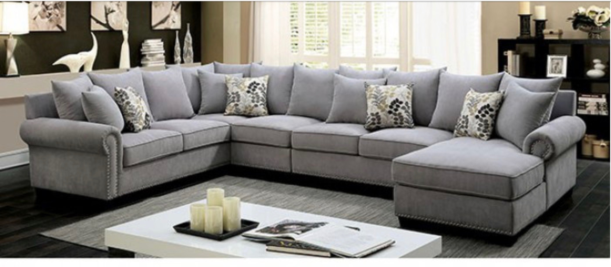 SECTIONAL+ CHAISE SET $1850
