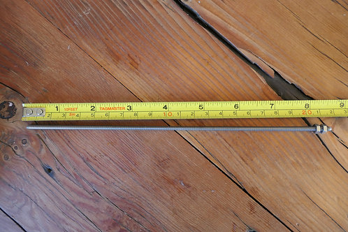 "Short Pull Through Rod for 1 quart Dairy Carton Container 8.5"" Long"