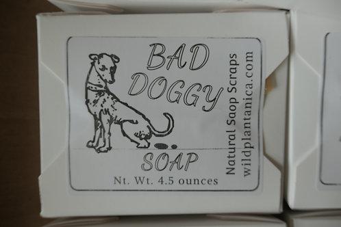 Novelty Dog Poop Soap Bad Doggy using soap scraps 4.5-5oz Nt wt.