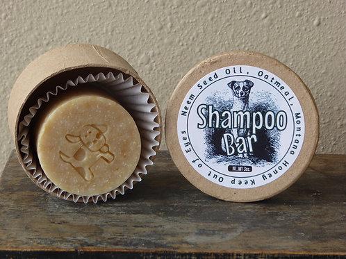 Dog Shampoo Bar with Neem, honey, and oats