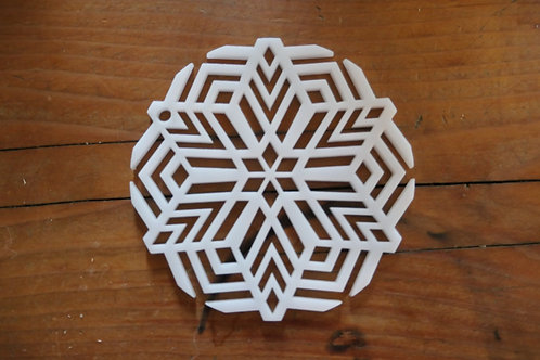 "2.75"" or 3"" Soap Disc Pull through Side Mount Kaleidoscope 6 sided star"