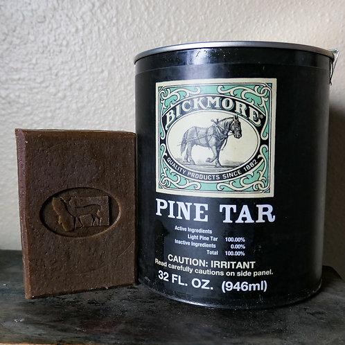 Natural Pine Tar Soap 20%