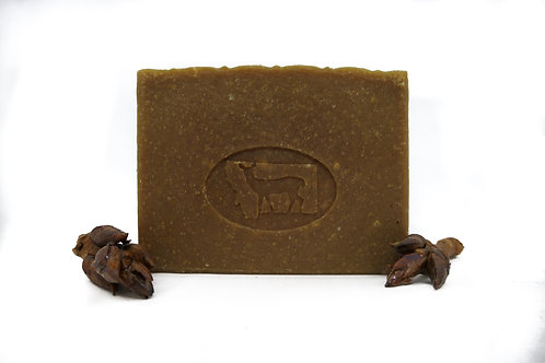 Balm of Gilead Goat Milk Soap Cottonwood 5.25oz Bar Unscented Cocoa Butter