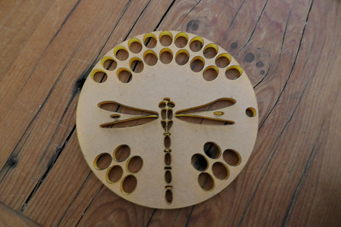 "Dragonfly 3"" Side Mount Pull through Soap Disc"