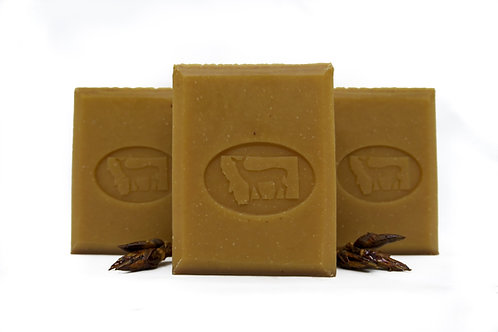 Balm of Gilead Soap Cottonwood 4oz Bar Unscented Cocoa Butter