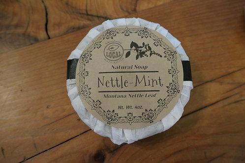 Montana Stinging Nettle and Mint soap bar 4oz