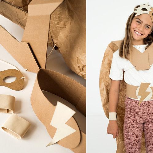 DIY Costume Superhero