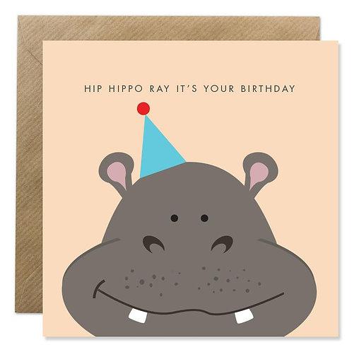 Hip Hippo Ray It's Your Birthday