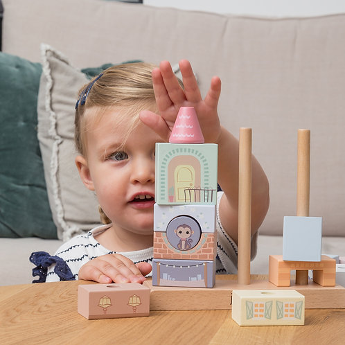 The Wildies Stacking Houses