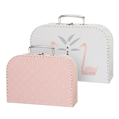 Mini Luggage Set - Swan
