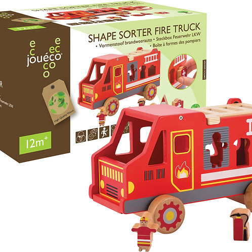 Fire Engine Shape Sorter