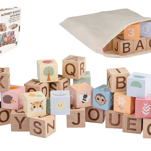 The Wildies Family Alphabet Blocks