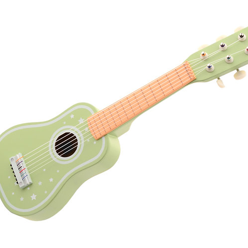 Guitar with 6 strings