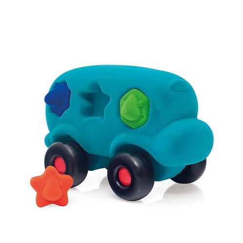 Shape Sorter Bus - Turquoise