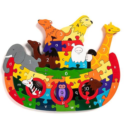 Noah's Ark Alphabet Jigsaw