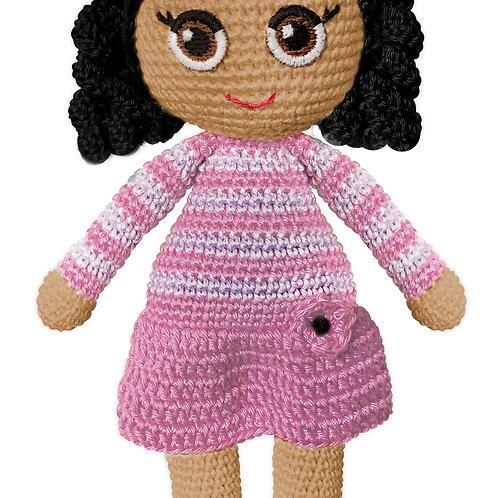 Crochet Doll Pia