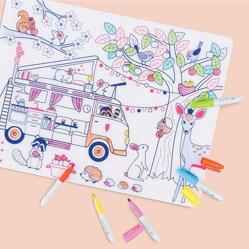 Dream Van Tablemat Set