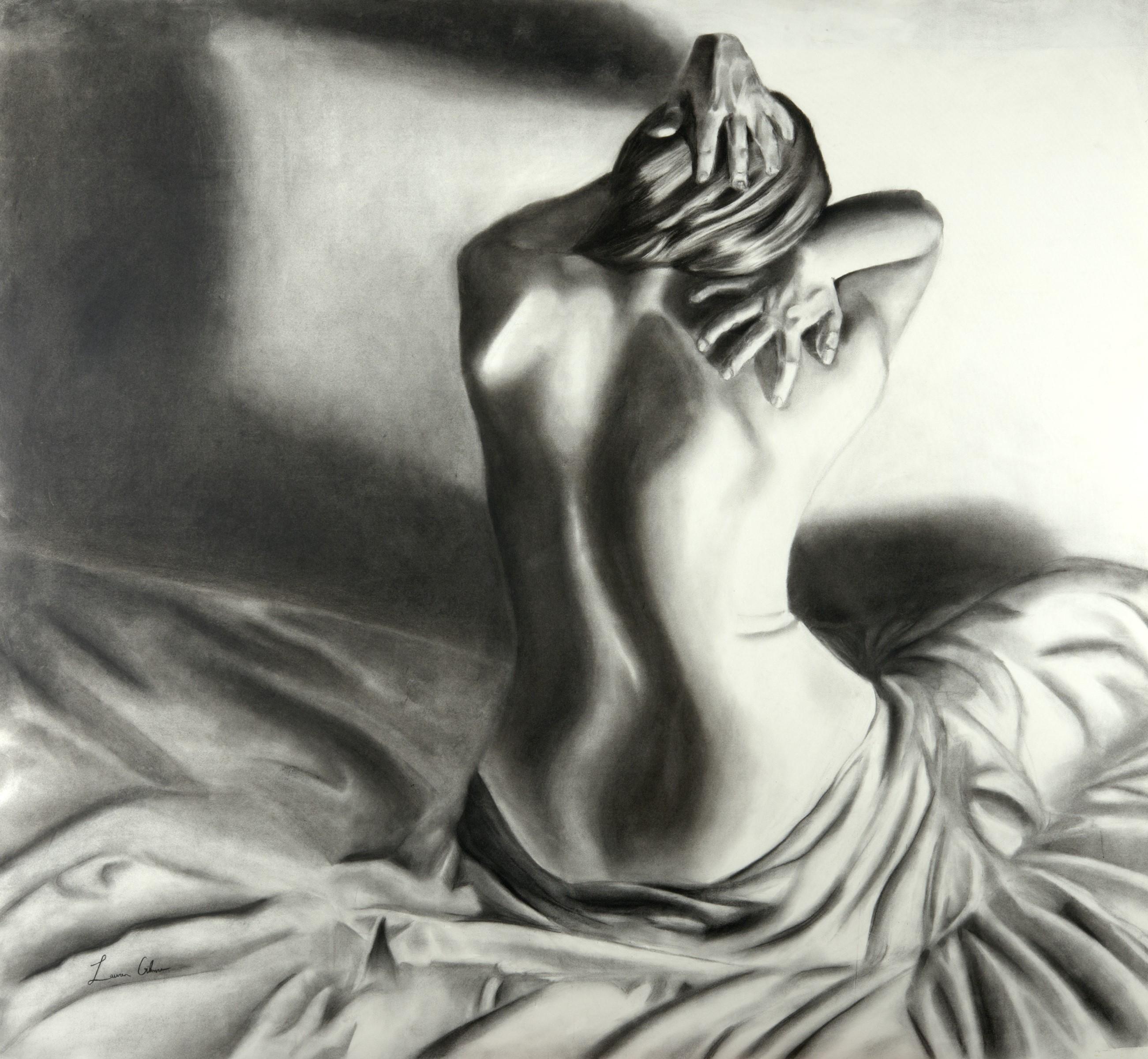 Charcoal Nude #2