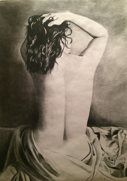 Charcoal Nude Commission