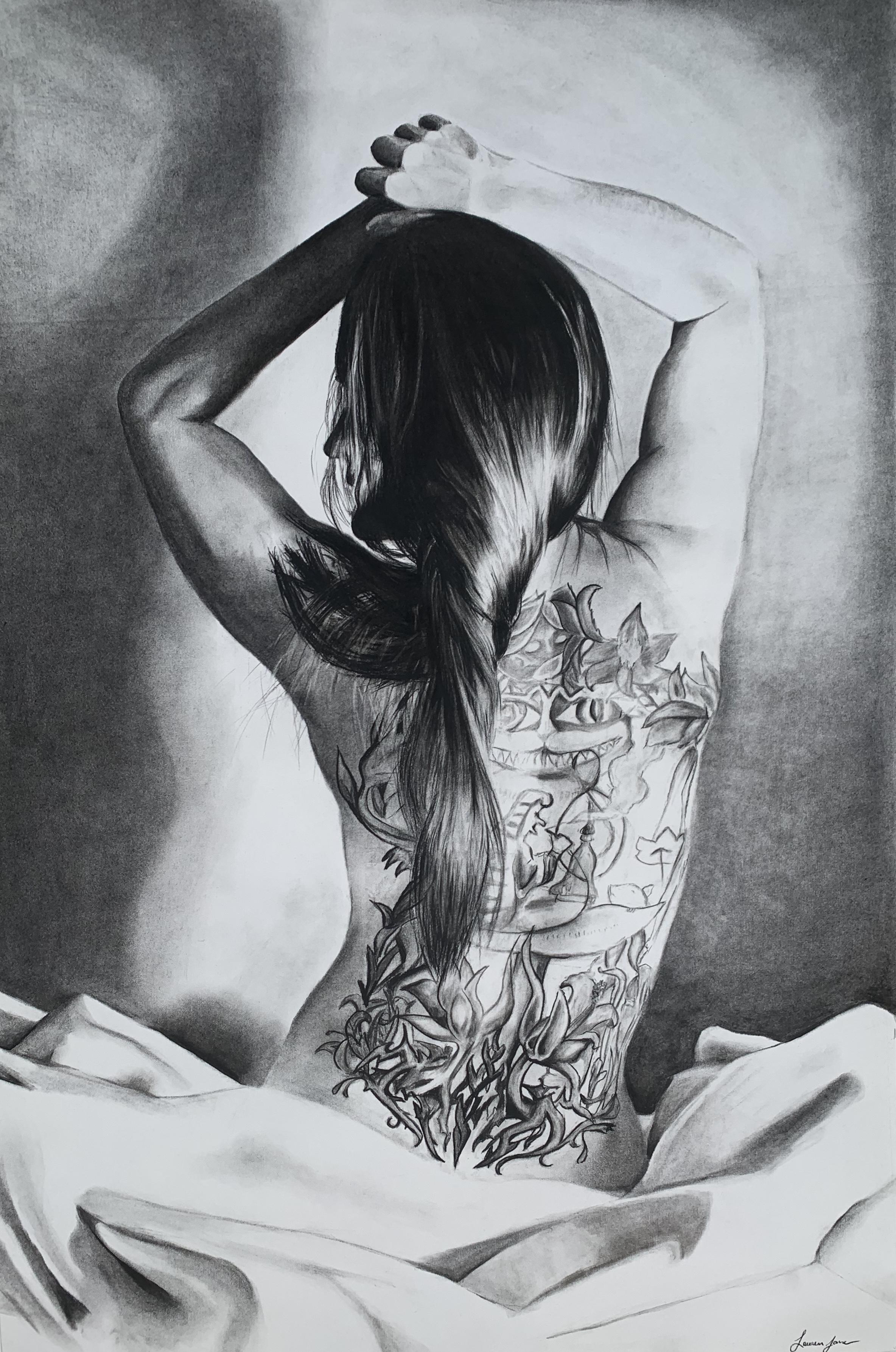 Charcoal Nude #5