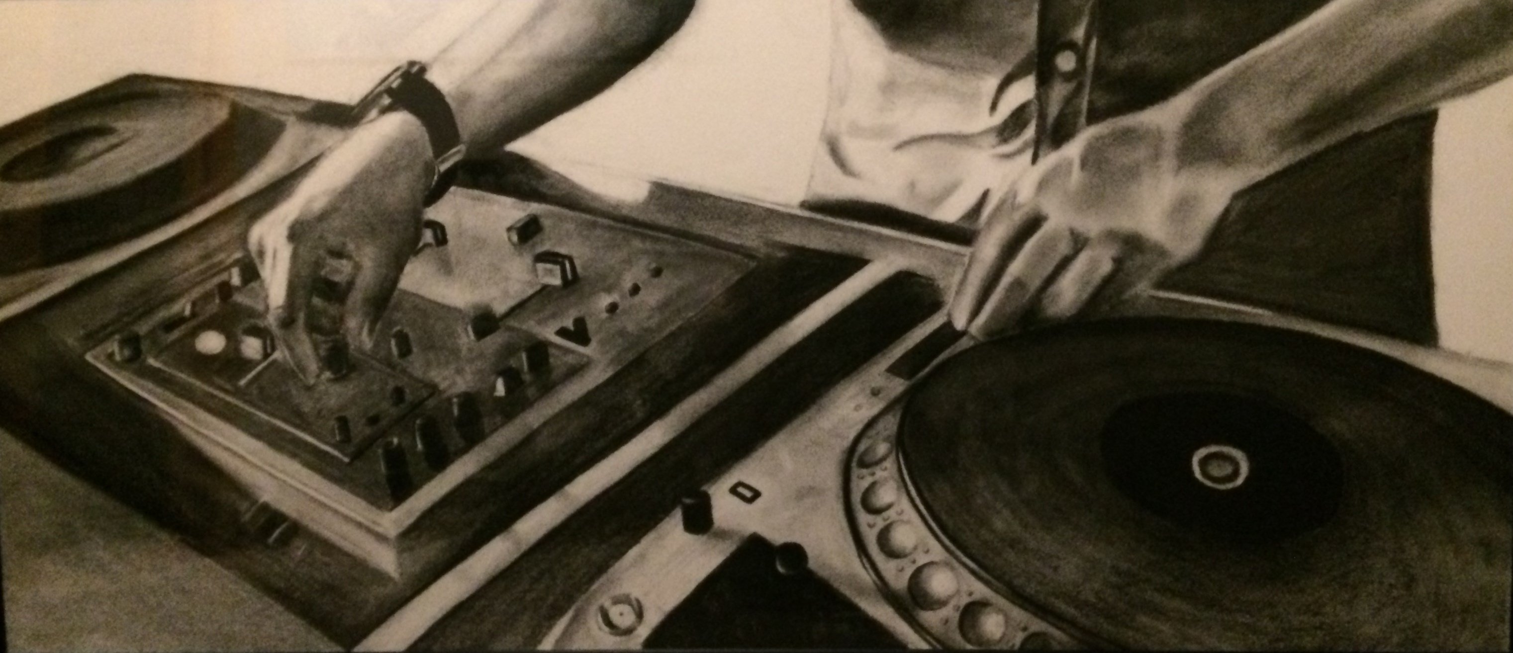 Charcoal DJ Rubonix Commission