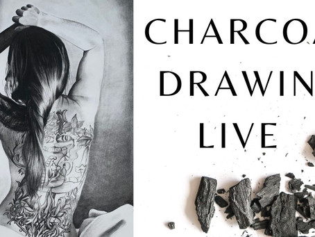 Live Drawing Session Video