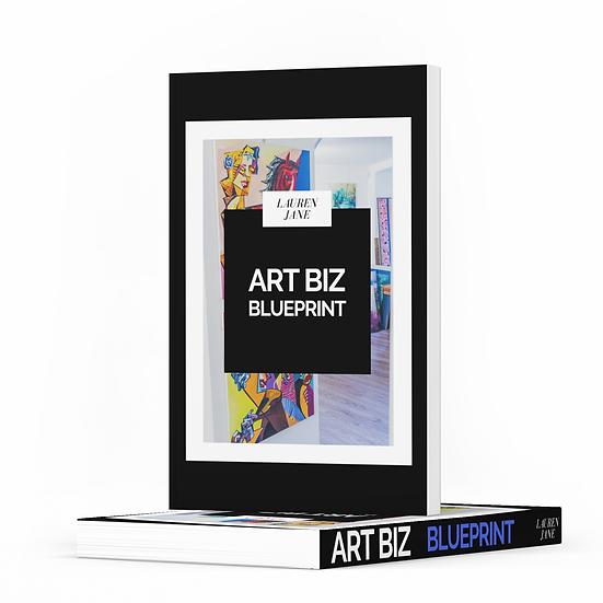 Booklet: Art Biz Blueprint Book