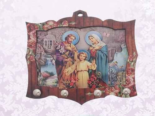 Porta Chaves Sagrada Família (04 pinos)