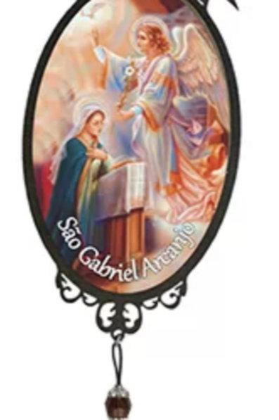 Adorno de Porta São Gabriel Arcanjo  (30 cm)
