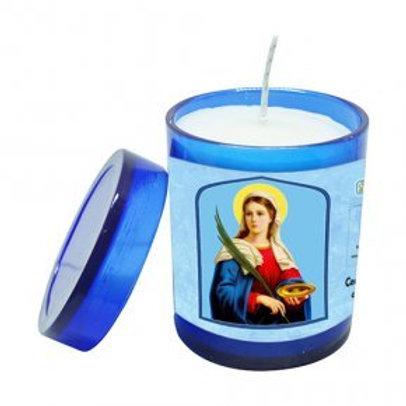 Vela Perfumada de Santa Luzia 7 cm