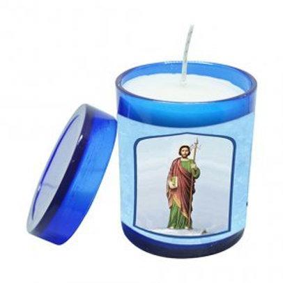 Vela Perfumada São Judas Tadeu 7 cm