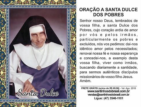 Santa Dulce, Santa Dulce dos Pobres, Irmã Dulce, Santinhos Santa Dulce