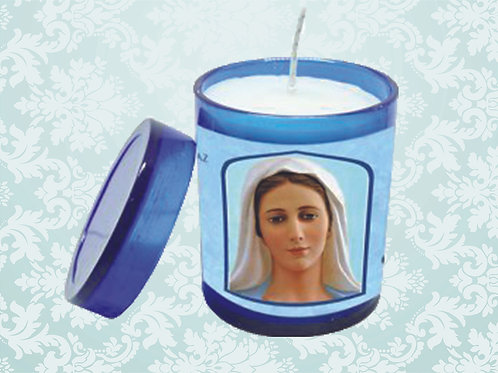 Vela Perfumada N.S. Rainha da Paz 7 cm