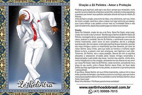 Oração Zé Pelintra - 7x10 cm