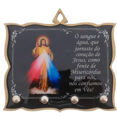 Porta Chaves Brilho Jesus Misericordioso